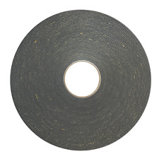 2mm roll black double sided glazing security trim tape