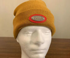 SUPREME METAL PLATE BEANIE DUCK BROWN, OS FW19 BRAND NEW (IN HAND) AUTHENTIC