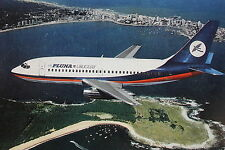 14305 AK aereo Photo PC Airplane PLUNA Uruguay Boeing 737-200