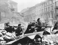 Warsaw Uprising Poland 1944 World War 2, Photo 7x5 inch Reprint