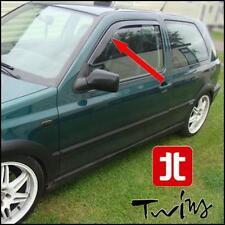 Déflecteurs de vent pluie air teintées VW Golf III mk3 1991-1997 3 portes et GTI