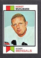1973 TOPPS FOOTBALL #146  Horst Muhlmann  BENGALS  West Germany EX-MINT