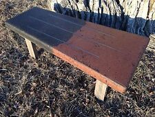 Concrete Coffee Table / Side Table Handmade in USA Mid Century Modern Mod