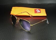 RAY BAN KIDS RJ9506S 249 4V Aviator Matte Gold IIllac Flash 52 mm Sunglasses