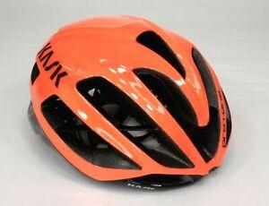 Kask Protone Bicycle Helmet, Adult Large, 59-62cm, Orange