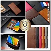 Etui Coque Housse Cuir PU Premium Leather Case Cover XIAOMI Redmi 5+ Note 5 pro