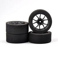 1/10 Ultralight Foam Tires&Wheel Rim 12mm Hex for RC on-road Racing Car HSP HPI