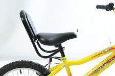 SPECIAL NEEDS BIKE TRIKE SEAT BACK REST SUPPORT IDEAL CHILDREN SMALL ADULT BLACK