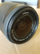 Canon Zoom Lens EF-S 18-55mm 1:3.5-5.6 IS, USED