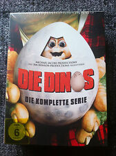 JIM HENSON'S THE DINOSAURS - COMPLETE SERIES  - DVD Region 2/UK - Season 1,2,3,4