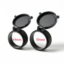 Hunting Scope Cover Flip Up Cap Open Objective Lens Eye 44mm&50mm Protector Cap
