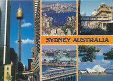 alte AK Sydney - Australien Monorail 1991 gelaufen Ansichtskarte ha17j