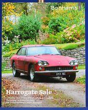 Bonhams Auction Catalog Automobile November 2012 Harrogate Sale Yorkshire Event