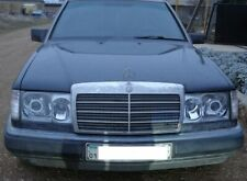 Mercedes W124 Clear Polycarbonate Covers Headlight for retrofit. Pair 4mm