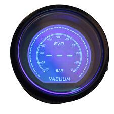 "Smoke Len Psi 2"" 52mm Blue Red Vacuum Boost Gauge Car Digital LED Light"