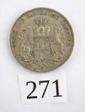 """3 Mark 1909 J Silbermünze """" Freie und Hansestadt Hamburg """" Jäger J. 64"""