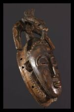 BAULE MASK AFRICAN TRIBAL ART AFRICAIN ARTE AFRICANA AFRIKANISCHE KUNST