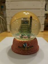 INDIANAPOLIS MOTOR SPEEDWAY GLASS COLLECTORS SNOW GLOBE INDY 500-RARE DON MARSH