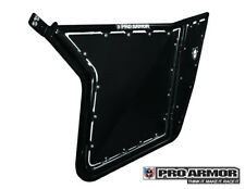 Pro Armor Traditional Half Door Solid Black Polaris RZR 800/900 P081209BL