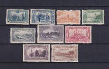 TURKEY 1920, Sc# 590-598, Architecture, CV $80, MNH/MH