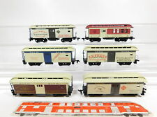 CG130-1 #6x H0/Dc US Usa-Postwagen: Central Pacific + B&o + Uprr etc. , Defects