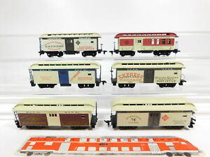 CG130-1# 6x H0/DC US-/USA-Postwagen: Central Pacific + B&O + UPRR etc, Mängel
