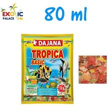 DAJANA TROPICA 80 ml MANGIME IN FIOCCHI PER PESCI TROPICALI CIBO SCAGLIE ACQUARI