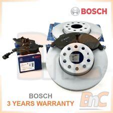 # BOSCH OE HEAVY DUTY FRONT BRAKE DISCS & PADS + WEAR SENSOR SET VW GOLF VI 6
