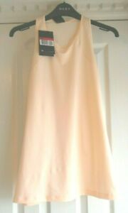 Ladies Nike Hypercool T Back Training Top Peach Colour size Large New with Tags