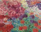 Emil Nolde Flower Garden Canvas Print 16 x 20       #3620