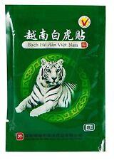 1 sachet de 8 Patch chauffant anti douleur relaxant TIGRE BLANC 100% Vietnam  Y3