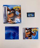 Crash Bandicoot 2 :N-Tranced (Nintendo Game Boy Advance, 2003)