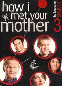 How I Met Your Mother - Season 3 - DVD WS 3-Disc Box Set