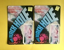 ORIGINAL UNPUNCHED The Black Hole Vintage Disney Mego Lot (two) 1977!