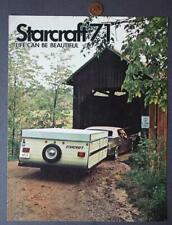 1971 Goshen,Indiana Starcraft Fifth Wheel Motor Homes-Rvs-Campers Brochure-Nice*