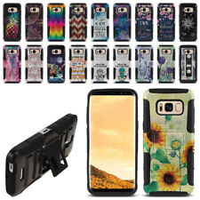 "For Samsung Galaxy S8+ Plus G955 6.2"" Hybrid Heavy-Duty Stand Phone Case Cover"
