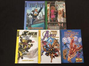 5 Digest Size Marvel Trade Paperbacks,  Gravity, Emma Frost, X-Men First Class