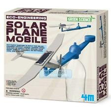 4M Eco-Engineering Solar Plane Mobile Robot Green Science Fun Kids School Projec