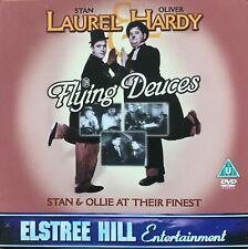 LAUREL AND HARDY DVD FLYING DEUCES BLACK AND WHITE 70 MINS