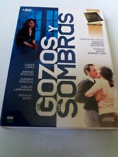 """DVD """"LOS GOZOS Y LAS SOMBRAS"""" 4DVD SERIE COMPLETA RAFAEL MORENO ALBA CHARO LOPEZ"""