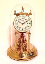 Vintage Kundo Anniversary 400 Day Torsion clock W/ Dome - Working