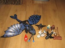Playmobil How to Train Your Dragon - Hiccup & Toothless With Baby - Set 70037