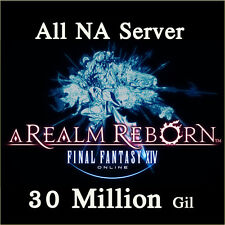FINAL FANTASY XIV 30000000 GIL FF14 30 Million FFXIV All NA Server PC PS3 PS4