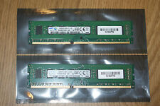 8GB DDR3 (2X4GB) PC3-12800U SAMSUNG RAM 240-PIN MEMORY FOR PC DESKTOP