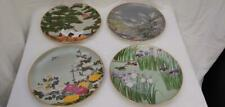 (4) 1979 Franklin Mint Orient Plates Hand Painted