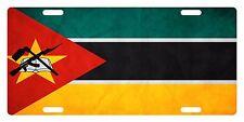 MOZAMBIQUE Flag Custom License Plate NATIONAL Emblem PAPER Version