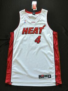 CARON BUTLER MIAMI HEAT AUTHENTIC NBA JERSEY DRI FIT WHITE NIKE SEWN 48 XL NWT