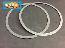 Quadrajet air cleaner gasket, pair.  NEW Quadrajet Power LLC