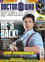 Doctor Who Insider Magazine John Barrowman The Cybermen Louise Jameson 2011