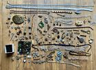 Scrap+Jewelry+Lot+Antique+%26+Vintage+Some+Designer+Costume+Parts+Projects+Restore
